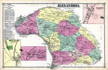 Alexandria, Little York, Mount Pleasant, Everittstown, Hunterdon County 1873